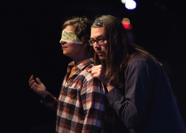 Photo Flash: First Look at The Neo-Futurists' SATURN RETURNS, Opening Tonight