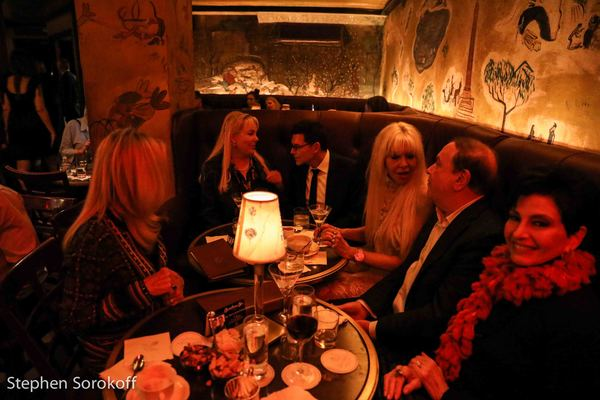 Bemelmans Bar Eda Sorokoff, Victoria Christopher, Terrance Flannery, Sunny Sessa, Alan Lazare, Arlene Lazare
