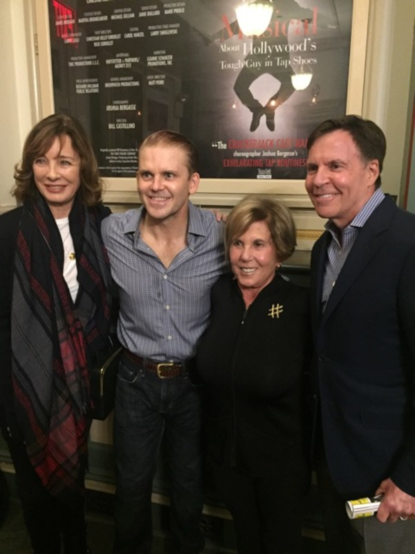 ANNE ARCHER, ROBERT CREIGHTON, RIKI KANE LARIMER, BOB COSTAS Photo