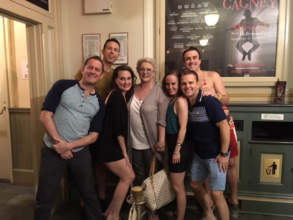 Photos: Tommy Tune, Lucie Arnaz, Bob Costas and More Visit CAGNEY