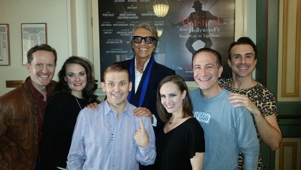 Photo Flash: Tommy Tune, Lucie Arnaz, Bob Costas and More Visit CAGNEY
