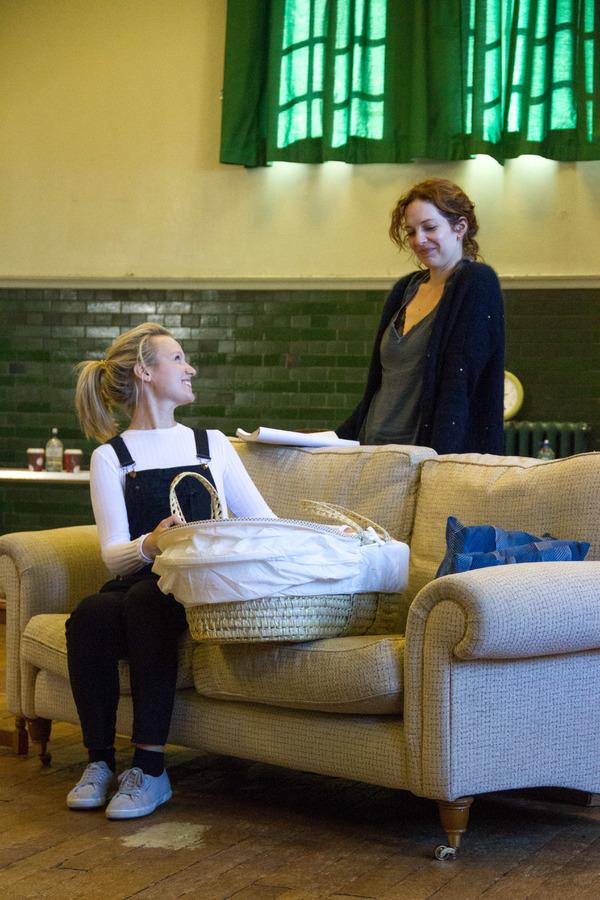 Emily Berrington and Katherine Parkinson