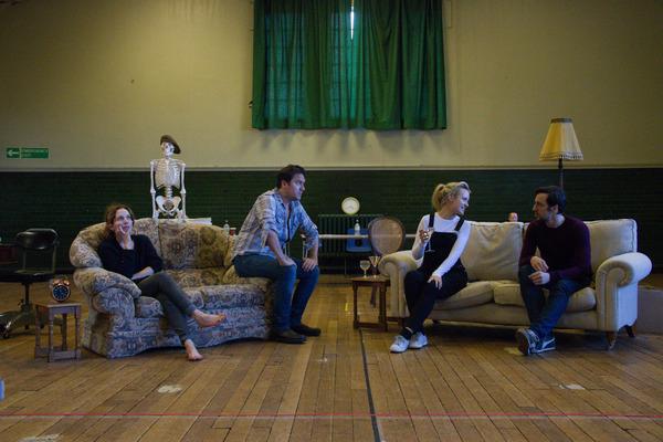 Katherine Parkinson, Rufus Jones, Emily Berrington, and Ralf Little