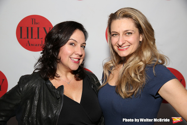 Photo Coverage: Backstage at the Ladies of the Lilly Awards Broadway Cabaret!