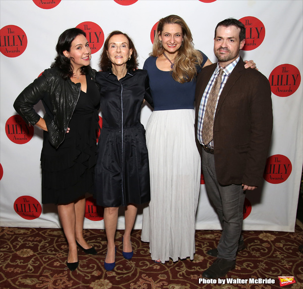 Kristen Anderson-Lopez, Janet Rosen, Sara Wordsworth and Joel Waggoner