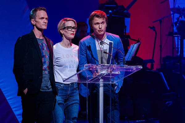 Neil Patrick Harris, Sarah Paulson, Ansel Elgort