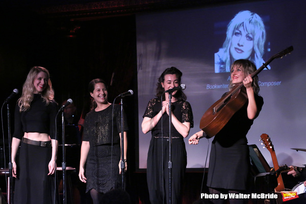 Erica Sweany, Jessie Shelton, Shaina Taub and Anais Mitchell