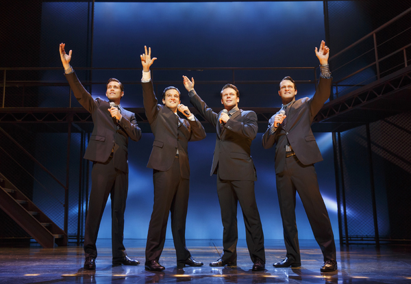 Photo Flash: First Look at DANCING WITH THE STARS' Mark Ballas as 'Frankie Valli' in JERSEY BOYS