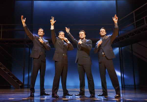 Drew Seeley, Mark Ballas, Nicolas Dromard and Matt Bogart