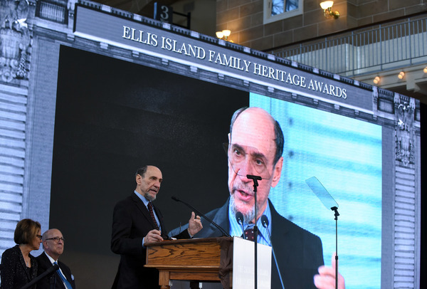 Photo Flash: Stage and Screen Icon F. Murray Abraham Honored on Ellis Island