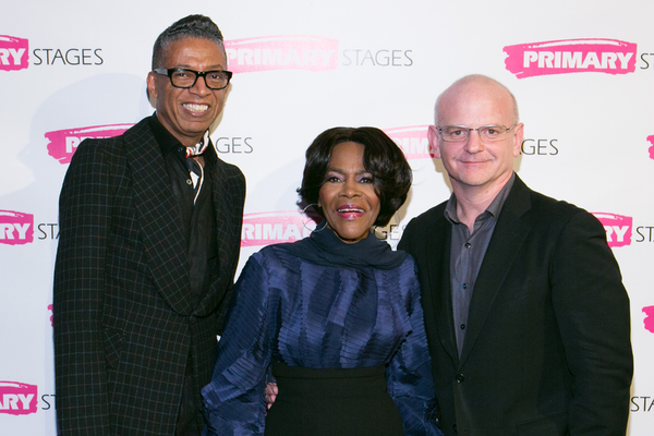 B. Michael, Cicely Tyson and Michael Wilson Photo