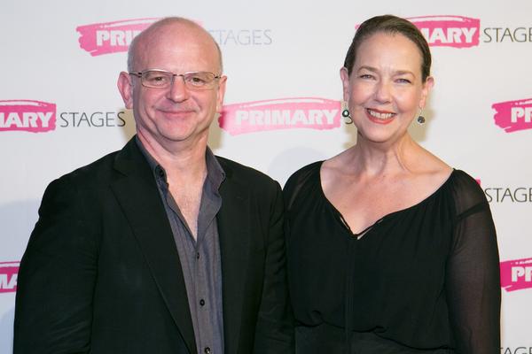 Michael Wilson and Harriet Harris
