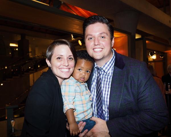 Gretchen Dawson, Isaac Dawson, and T.J. Dawson