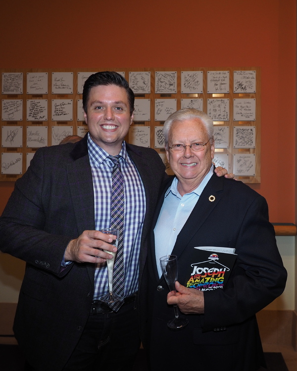 T.J. Dawson and  Mayor George Ray