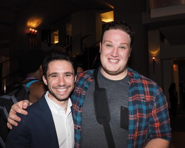 Dino Nicandros and Nick Morganella Photo