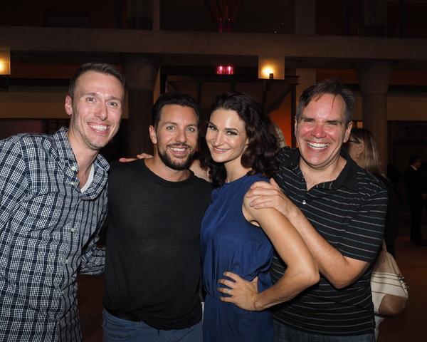 Joe Komara, Lauren Decierdo, and Bryan Dobson