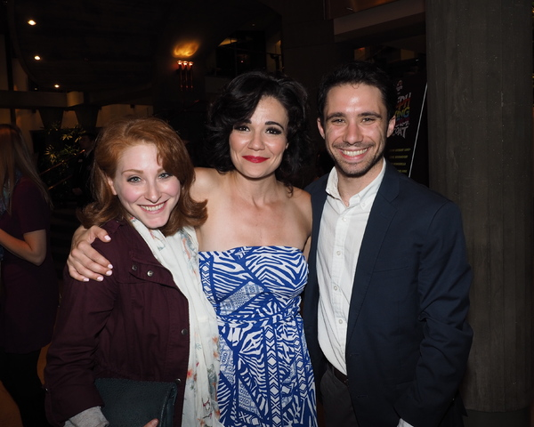 Allyson Spiegelman, April Henry, and Dino Nicandros Photo