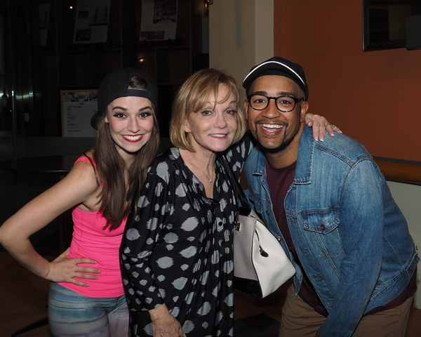 Chassey Bennett, Cathy Rigby, and Brandon Michael Nase Photo
