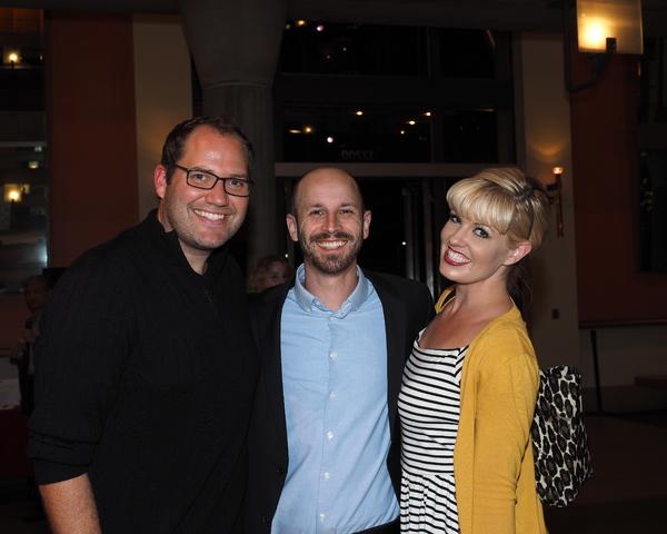 Danny Blaylock, Jordan Beck, and Laura Thatcher Photo