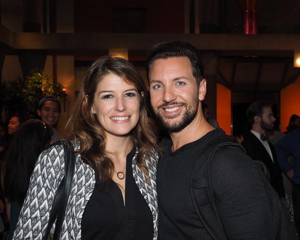 Nicole Parker and Joe Komara
