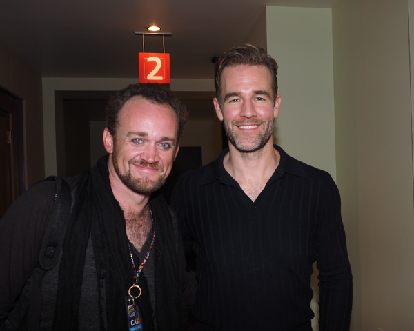 Dennis Kyle and James Van Der Beek