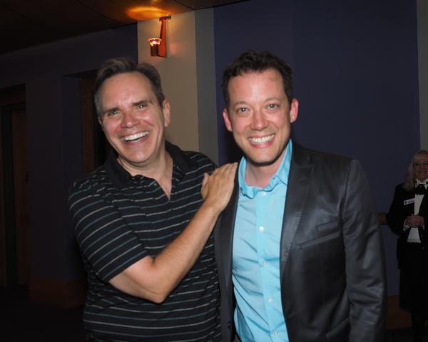 Bryan Dobson and John Tartaglia