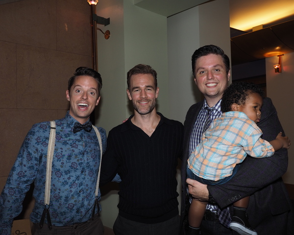 Daniel Dawson, James Van Der Beek, T.J. Dawson, and Isaac Dawson Photo