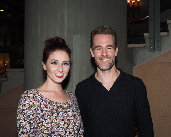 Dayna Sauble with James Van Der Beek