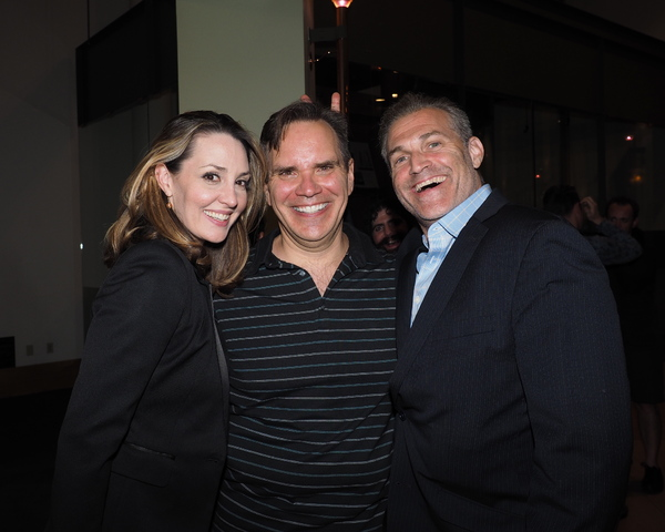 Shannon Lewis, Bryan Dobson, and Marc Kudisch Photo