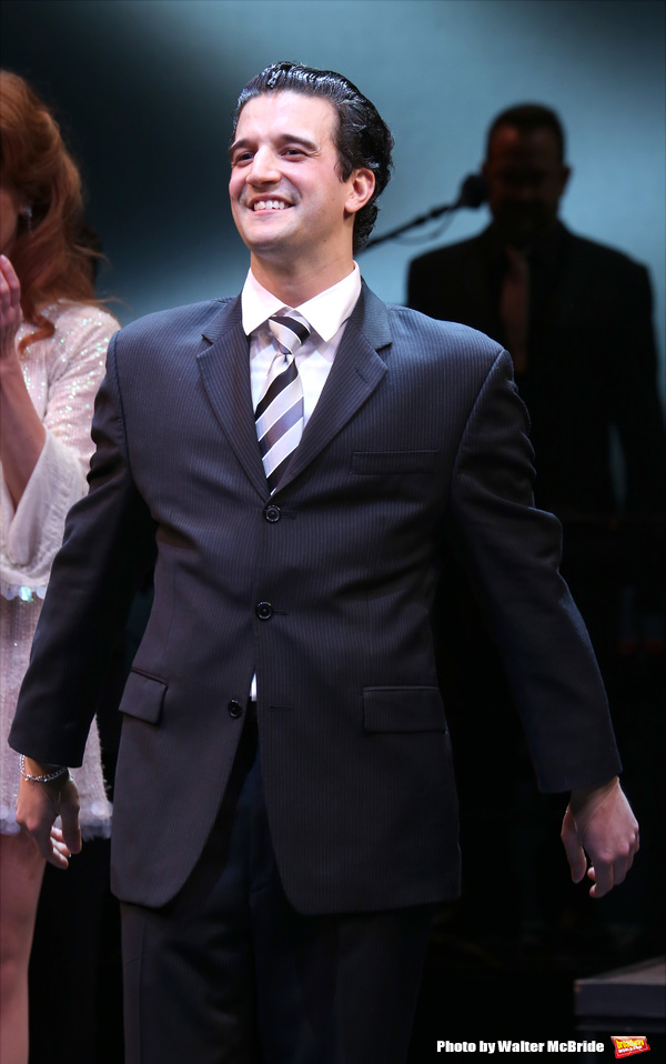 Photo Coverage: He's Too Good to Be True... Mark Ballas Takes First Broadway Bows in JERSEY BOYS!