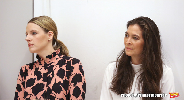 Jessie Mueller and Diane Paulus