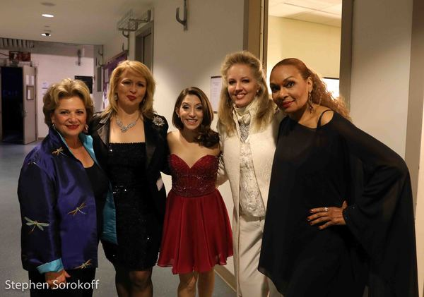 Susan Winter, Karen Oberlin, Christina Bianco, Stacy Sullivan, Vivian Reed