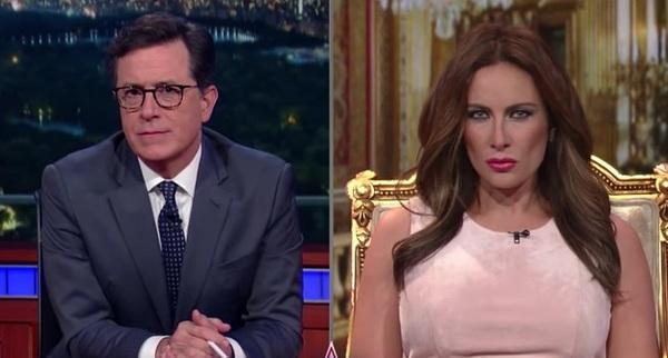 Stephen Colbert, Laura Benanti