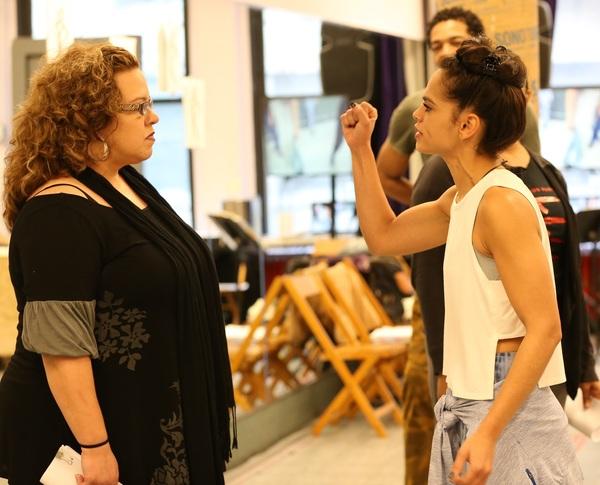 Mildred Ruiz-Sapp and Gizel Jimenez