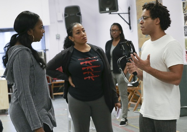 Ramona King, Sophia Ramos, and Christopher Livingston