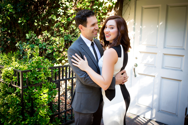 David Perlman and Stefanie Brown Photo