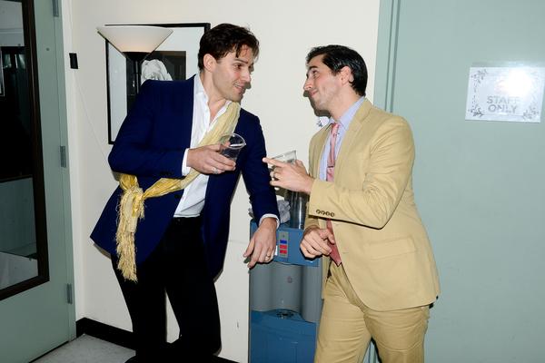 Ryan Silverman and Matthew Scott