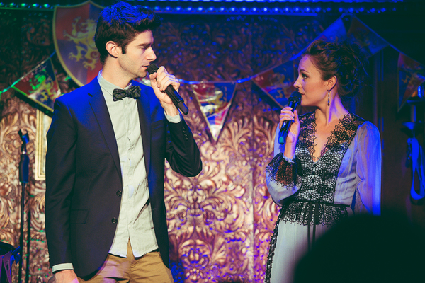 Drew Gehling and Laura Osnes