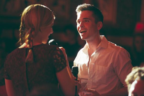 Kirsten Scott and Matt Doyle