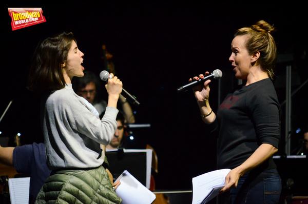 Josefina Scaglione y Alice Ripley Photo