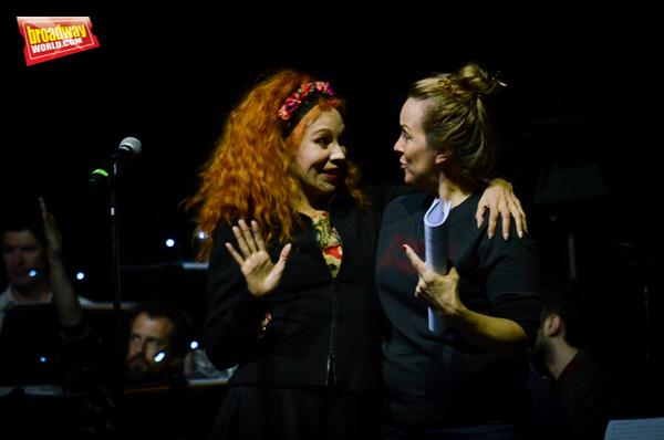 Nacha Guevara y Alice Ripley