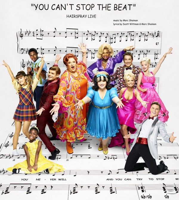 Ephraim Skyes as Seaweed J. Stubbs, Jennifer Hudson as Motormouth Maybelle, Martin Short as Wilbur Turnblad, Dove Cameron as Amber Von Tussle, Ariana Grande as Penny Pingleton, Garrett Clayton as Link Larkin, Harvey Fierstein as Edna Turnblad, Maddie Bail