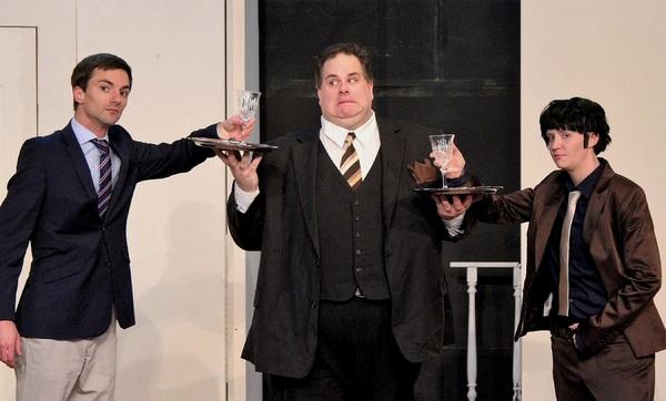 Sean Bullock, Chris Bedding, and Sarah Christiner Photo