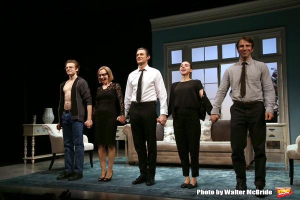 Ben Rosenfield, Amy Ryan, Richard Armitage, Zoe Kazan and Alex Hurt  Photo