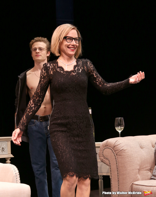 Ben Rosenfield and Amy Ryan Photo