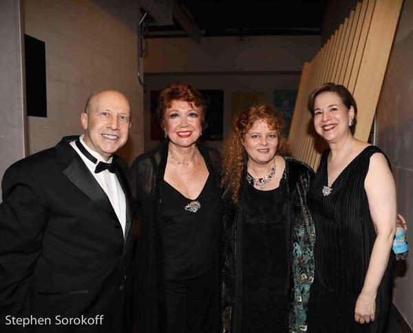 Alez Rybeck, Donna McKechnie, Sarah Rice, Celia Berk