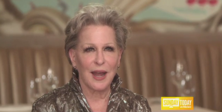 VIDEO: Sneak Peek - Bette Midler Chats Broadway's HELLO DOLLY on NBC's Today, 12/4