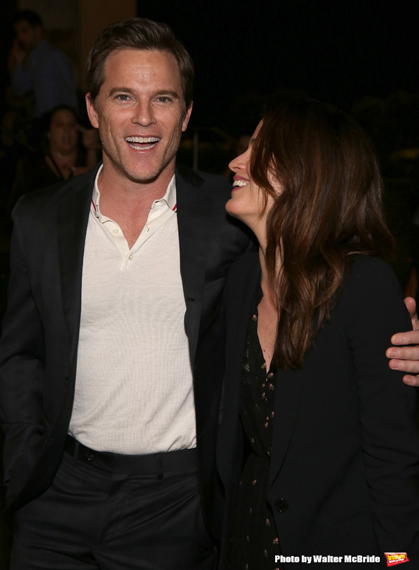 Michael Doyle and Elizabeth Reaser  Photo