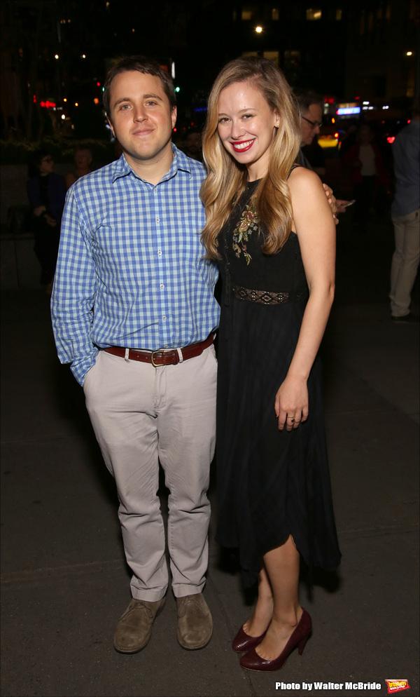 Josh Harmon and Molly Ranson