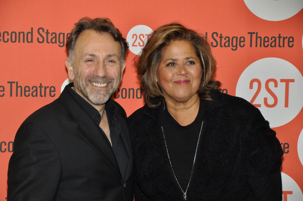 Leonard Foglia and Anna Deavere Smith